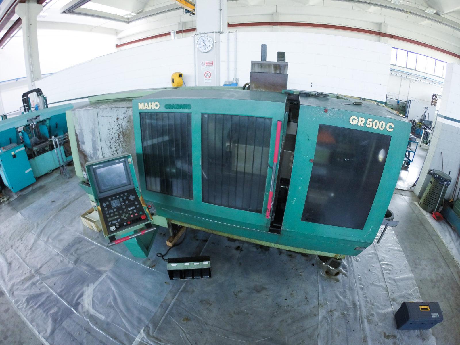 Revisione macchine CNC | R.A.M. Service