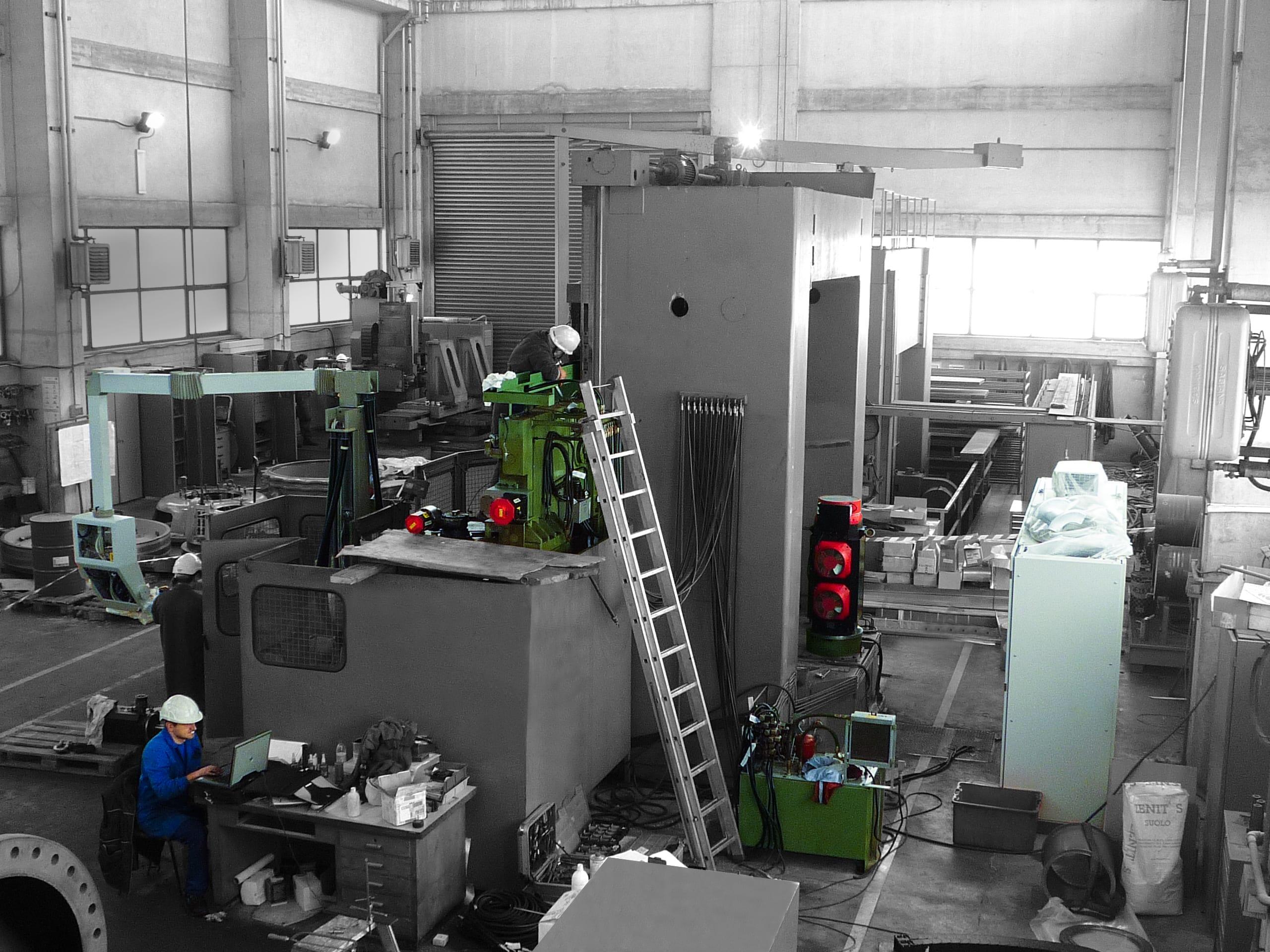 Revisioni macchine CNC | R.A.M. Service
