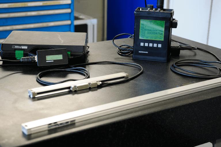Controllo righe ottiche | R.A.M. Service
